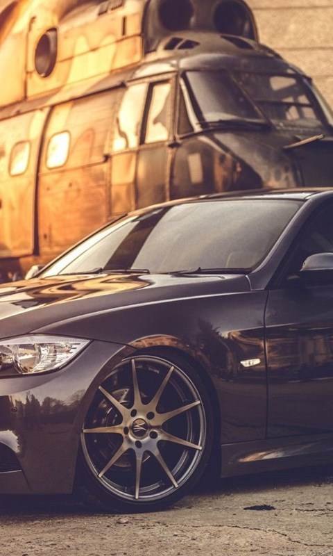 Bmw E90 Car Helicopters Black Military Bmw Wallpapers Hd