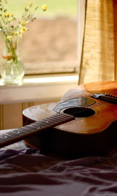 Acoustic Guitar Hd Wallpaper Acoustic Guitar Backgrounds Desktop Background