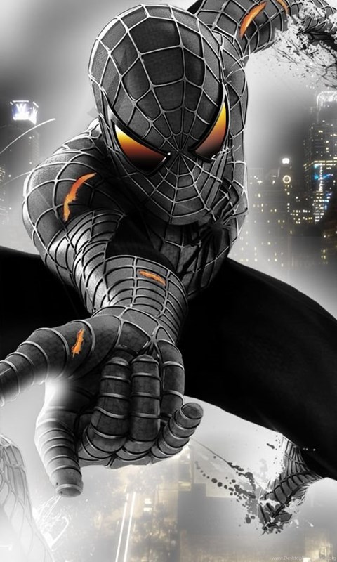 Black Spiderman Wallpapers Widescreen Hd Wallpapers Desktop Background