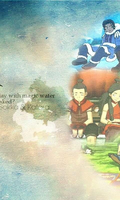 Sokka Katara Avatar The Last Airbender Wallpapers 28634934