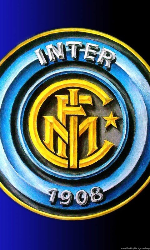 Inter Milan Logo Painting Wallpapers High Defin Desktop Background