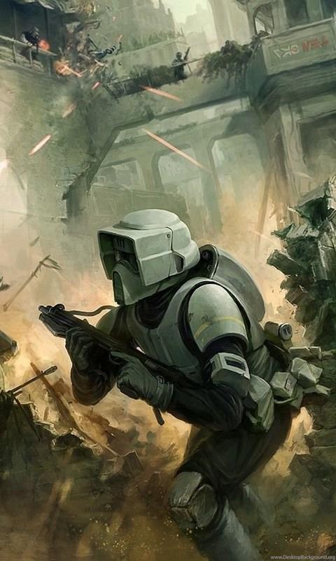 Star Wars Fan Art Wallpapers Hd Desktop Background