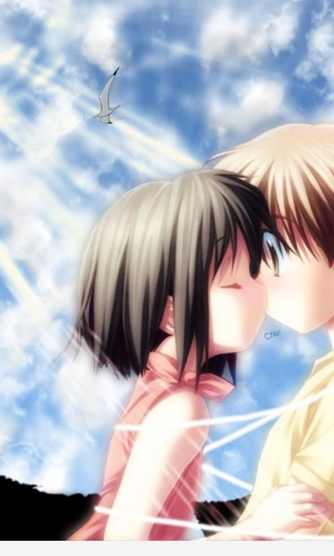 And anime couples cute love wallpapers hd images dark - Dark anime couples ...