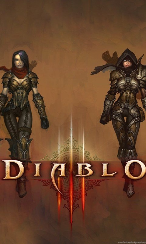 Video games demon hunter artwork diablo iii drawings wallpapers android voltagebd Images