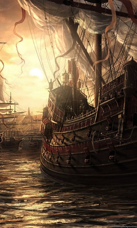 Pirate Ship HD Wallpapers Desktop Background