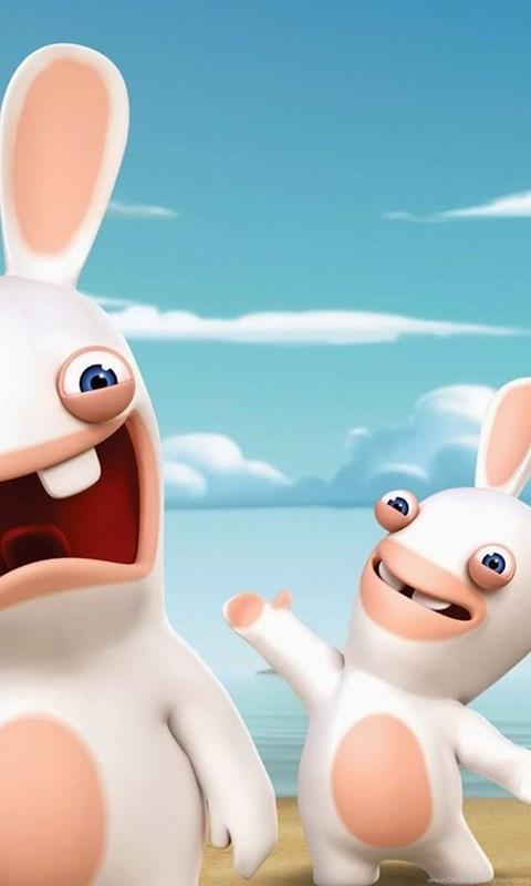 Raving Rabbids Invasion Nickelodeon Wallpapers Desktop Background