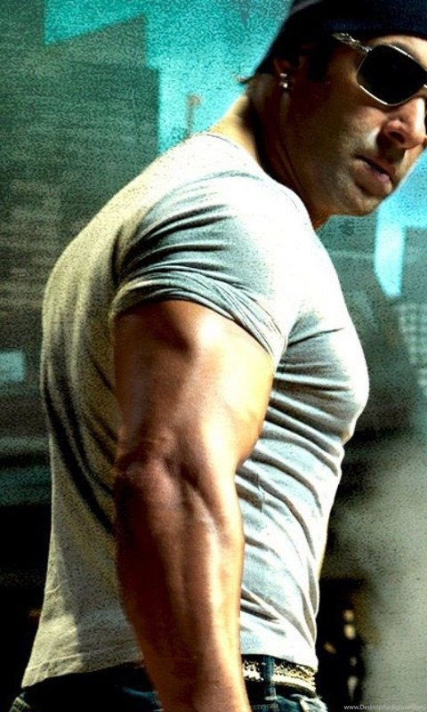 Actor Salman Khan In Bollywood Movie Wanted HD Wallpapers Desktop