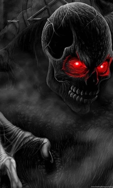3D Horror Skull HD Wallpapers Android Apps And Tests ...  3D Horror Skull...