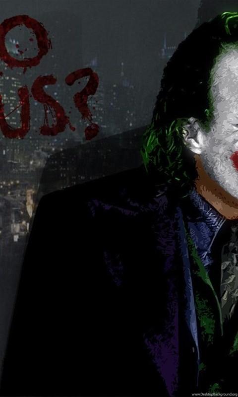 Joker Why So Serious Wallpaper Desktop Background
