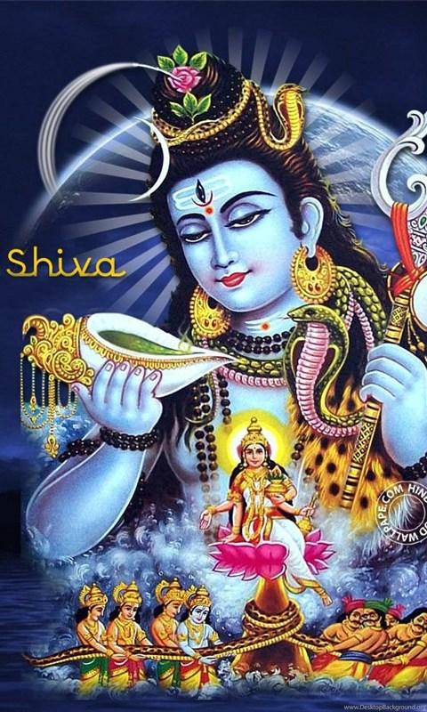 Samudra Manthan Lord Shiva Hd Wallpapers Desktop Background
