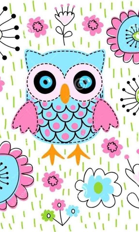 347143 cute girly owl wallpapers dalban