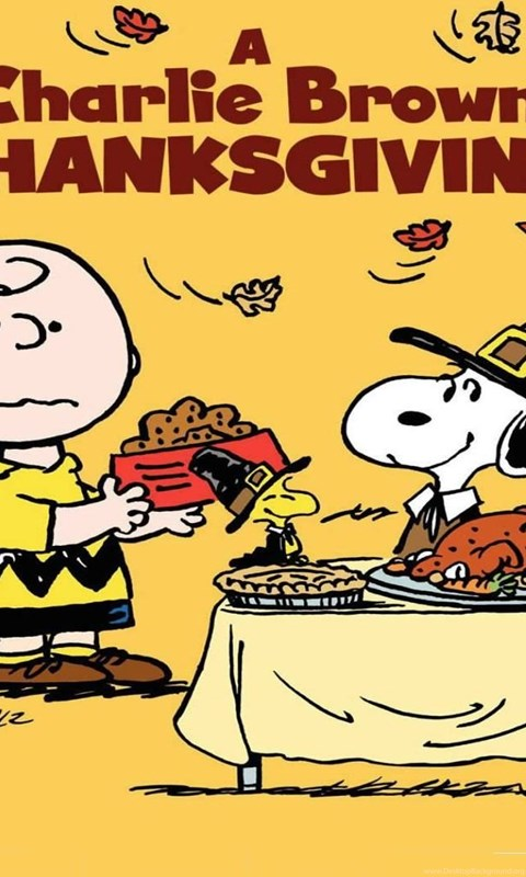 charlie brown thanksgiving apos - 480×800