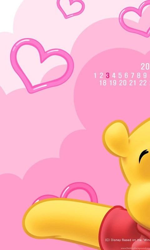 Winnie Pooh Cartoon Wallpapers Image Iphone Cartoons Android Wallpaper