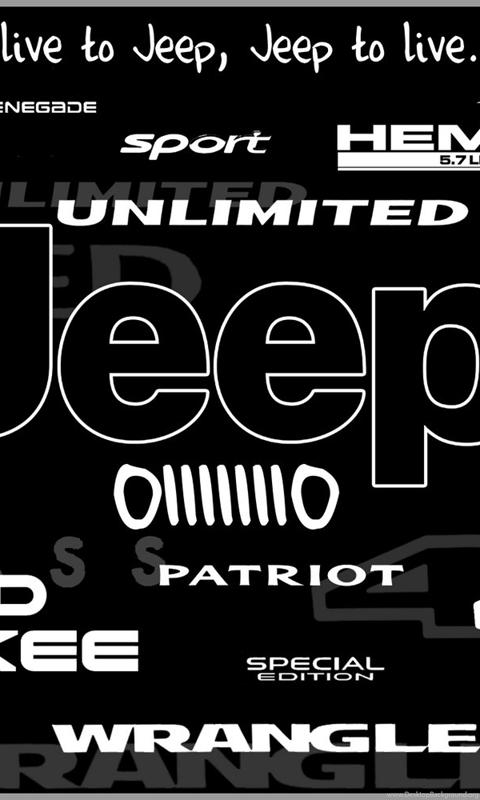 32 Jeep Logo Hd Wallpapers For Desktop Wallpapers 445 Jeep Hd