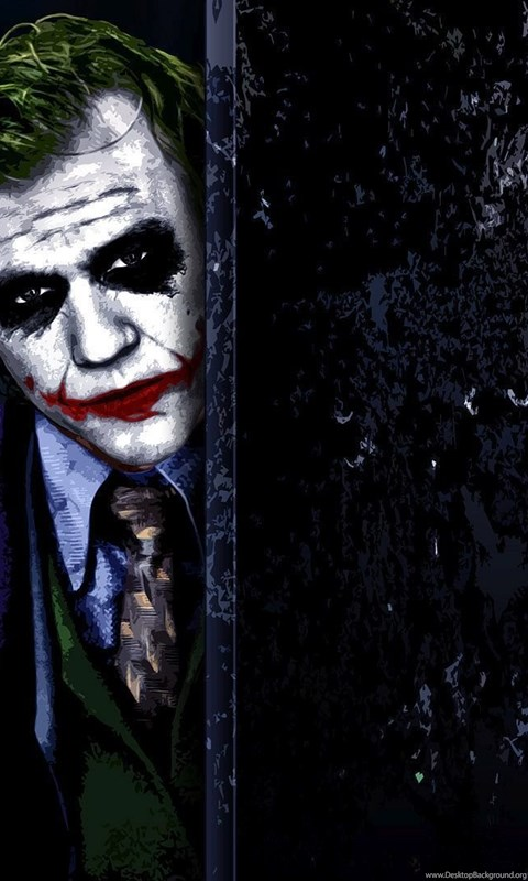 Hiding Joker The Dark Knight Wallpapers Movie Wallpapers Desktop