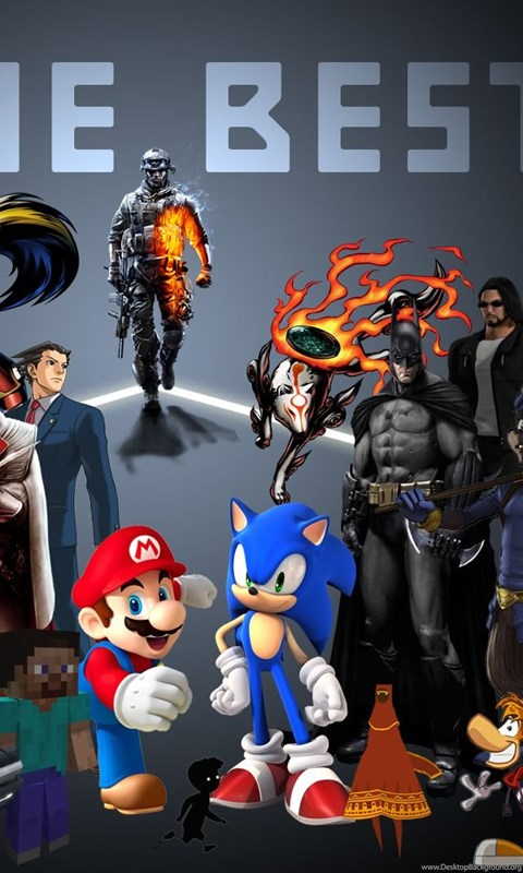 Latest Amazing Video Game Character Collage YouTube HD
