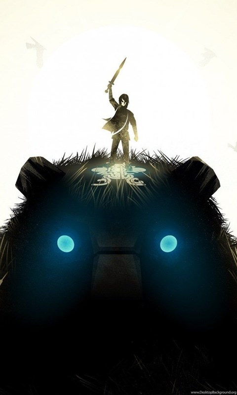 shadow of the colossus iphone 4 wallpaper