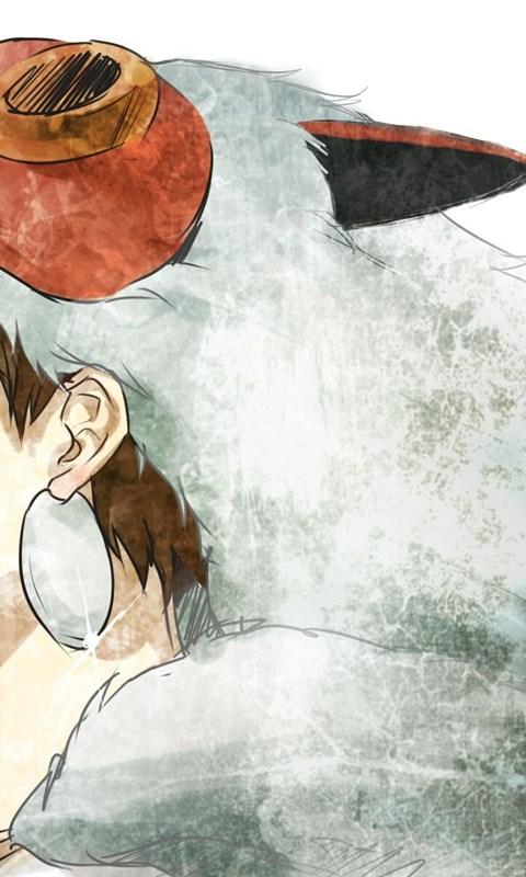 San Mononoke Hime Wallpapers Zerochan Anime Image Board Desktop