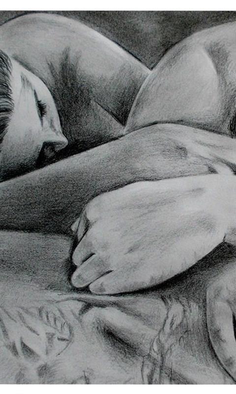 cute love drawings pencil art desktop background