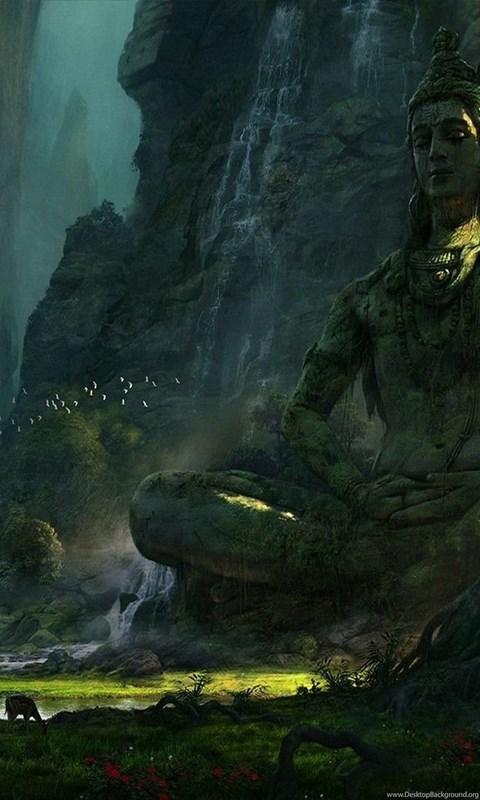 unexplored ruins lord shiva wallpapers desktop background