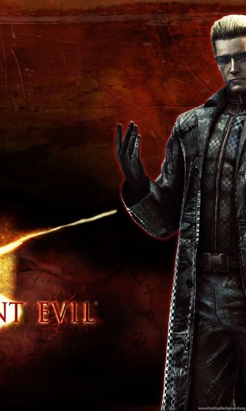 Resident Evil 5 Albert Wesker Wallpapers Desktop Background