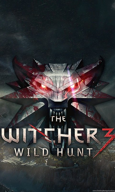 download wallpapers 2560x1024 the witcher 3 wild hunt logo dual