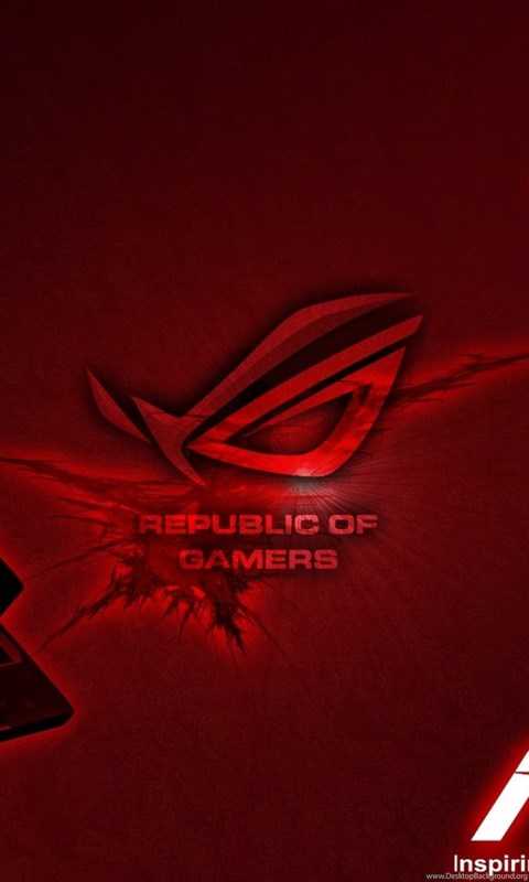 Asus Red Rog Logo Hd Wallpapers Desktop Background
