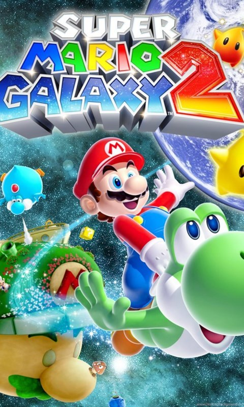 Mario Galaxy 2 Wallpaper