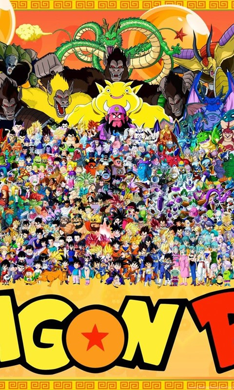 Dragon Ball Z All Characters Wallpapers