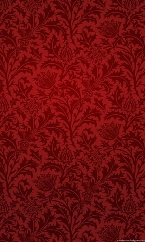 Red Damask Wallpaper Jpg Desktop Background