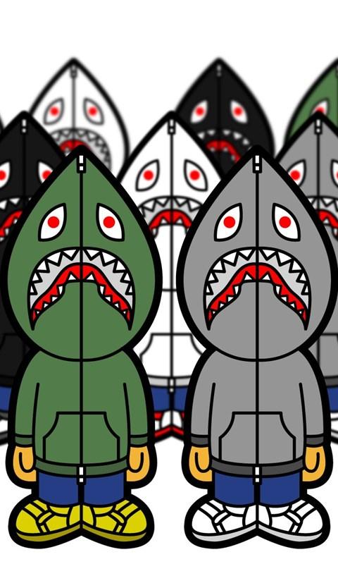 Jestingstock Bape Shark Wallpapers Hd Desktop Background