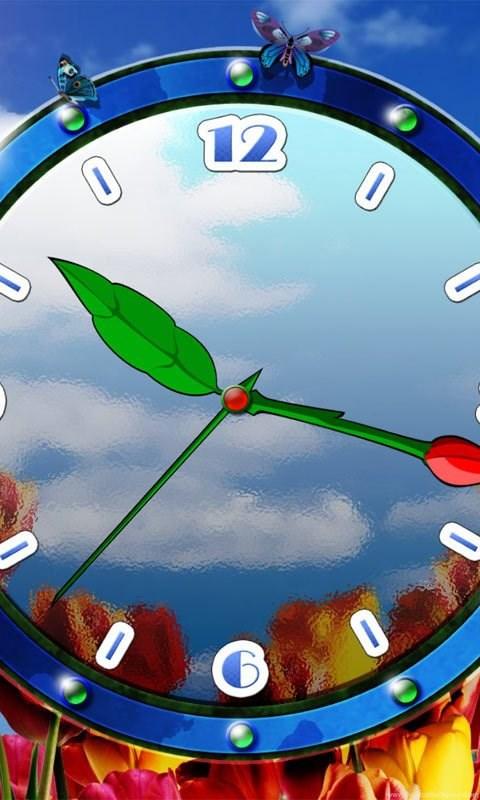 Working Clock Wallpaper Images Desktop Background