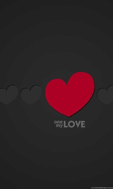 Love wallpaper black background heart 1469734 desktop background android voltagebd Image collections