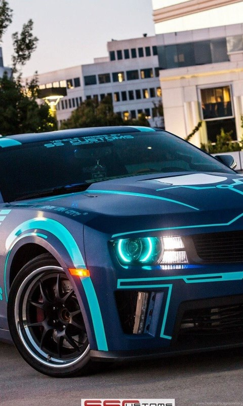 Chevrolet Tron Legacy Muscle Car Vehicles Wallpapers And