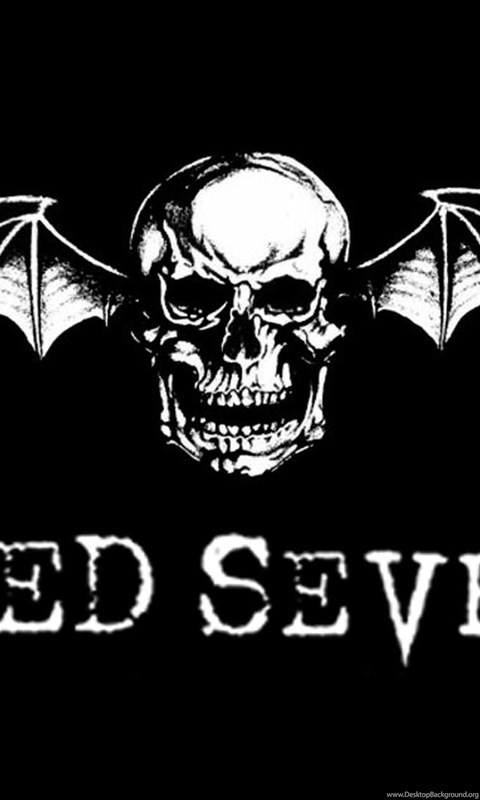 Logo avenged sevenfold hd wallpapers desktop background android voltagebd Images