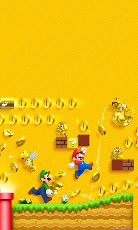 New Super Mario Bros 2 Wallpapers (HD) Desktop Background