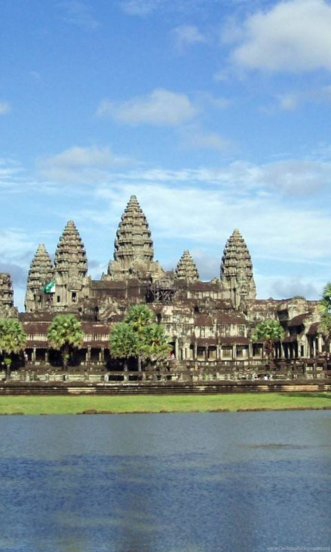 Download Angkor Wat Cambodia 1600x900 Wallpapers Desktop
