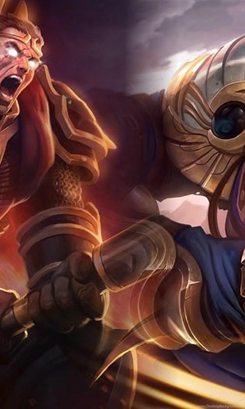 Stockion Gallery League Of Legends Wallpapers Darius Vs Garen