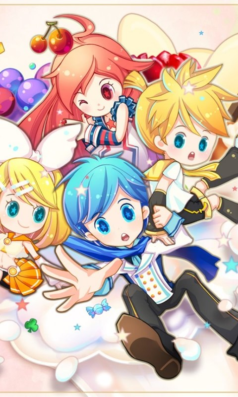 Jestingstock Chibi Wallpapers Vocaloid Desktop Background