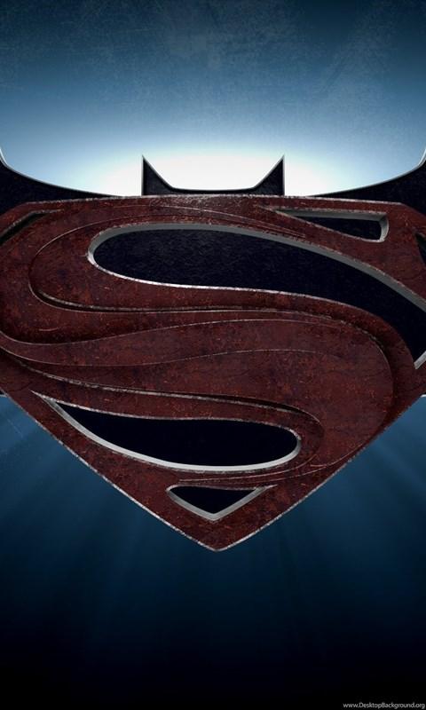 Batman Vs Superman Logo Wallpaper Desktop Background