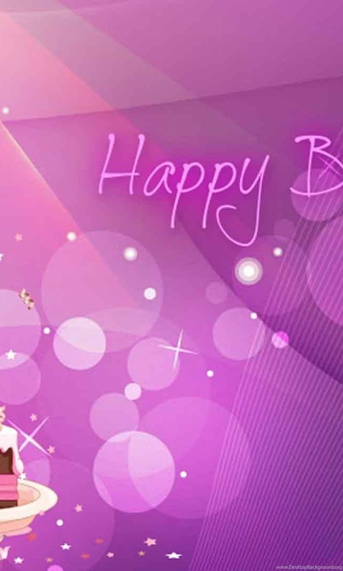 32 Birthday Backgrounds Designs Desktop Background