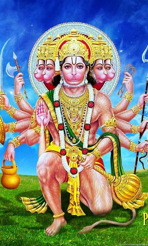 Lord Hanuman Panchmukhi Wallpapers Hd 1080p Free Download