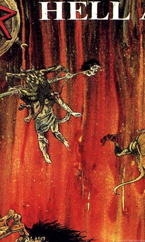 Wallpaper: Slayer, Rock Band, Metal Music, Hell Awaits ...
