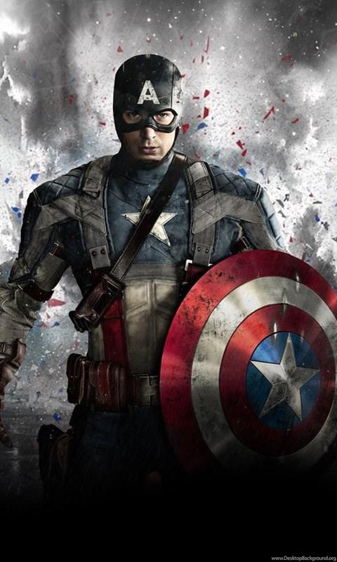 Captain America Shield Marvel Chris Evans Hd Wallpaper Movies