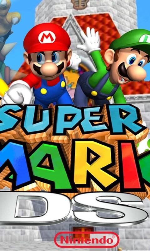 Image Super Mario 64 DS Widescreen Wallpaper jpg MarioWiki