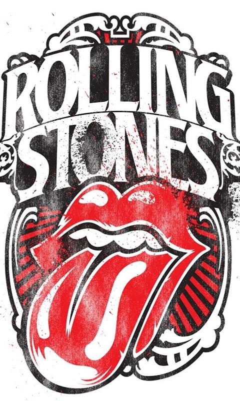 Repin Image Rollingstones Logo Desktop Background