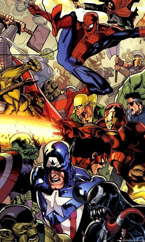 Marvel Wallpapers Hd Desktop Background