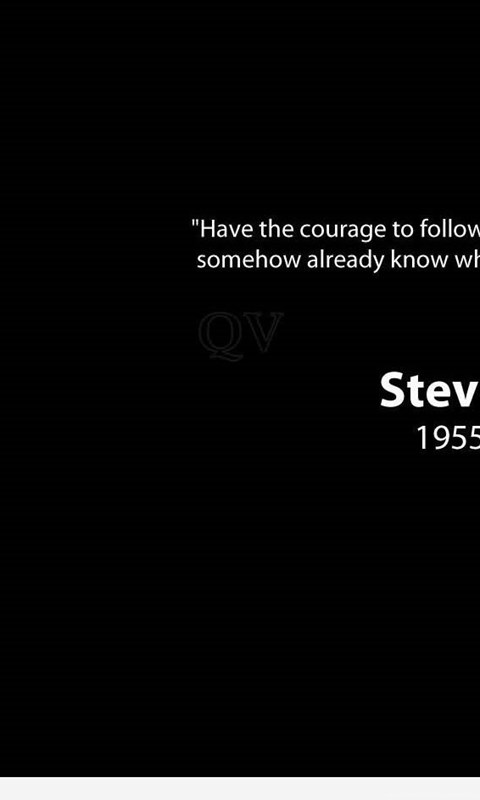 Courage Steve Jobs Wallpapers Quote Desktop Background