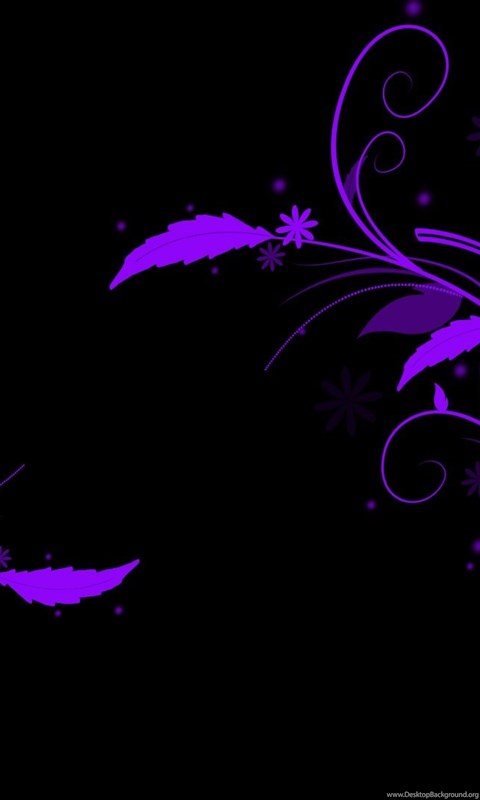 Abstract Wallpaper Purple And Black Full HD Wallpapers For