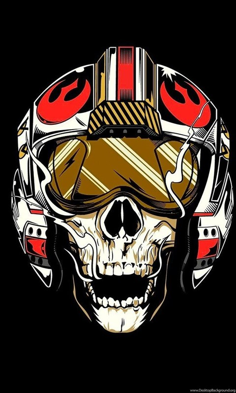 709269 star wars rebel alliance pilot skull wallpapers hd